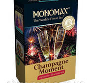 "Чай ""МОНОМАХ"" 80г Champagne Moment (Бризки Шампанського) (1/16)"