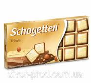 Шоколад молочный SCHOGETTEN TRILOGIA трилогия 100г (1/15) 11292