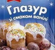 """Глазурь ванильная белая """"ПРОТИВЕНЬ"""" 75г (1/70)"""