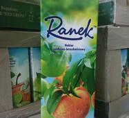 """Сек 1,9л яблочно-персиковый с мякотью """"Ranek"""""""