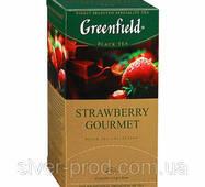 """Чай """"Грінфілд"""" 25п*1,5г Черный Strawberry Gourmet (Клубника) (1/10) 640"""