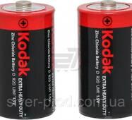 Батарейка Kodak большая R20 в пленке 2шт (1/24)