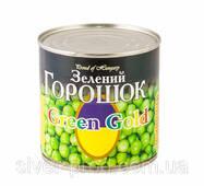 """Горошек зеленый консервированный 420г же/бы """"Green Globe"""" (1/8 или 12)"""
