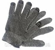 Перчатки хозяйственны микроточка ЧЕРНЫЕ (1*12)