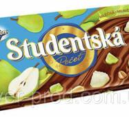 Шоколад молочный Studentska Груша 180г Orion (1/16)