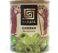 Оливки зелены без косточки 850г Ellada Colossal же/бы (1/12)