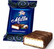 """Конфеты 220г """"MILLA сэндвич/кокос"""" ТУБУС Шокобум"""