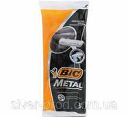 Станок для бритья BIC METAL 5 1шт черный (1*6/30)