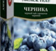 """Чай """"ТРИ СЛОНА"""" 20ф/п*1,3г Черный Черника бы/я (1/20)"""