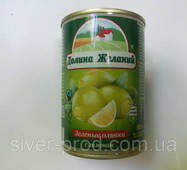 "Оливки с лимоном 260г (300мл) ""Долина Желаний"" (1/12)"