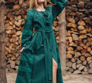 Вишита сучасна сукня