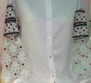 Блуза біла жіноча