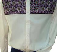Дизайнерська чоловіча сорочка