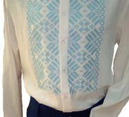 Геометричний орнамент чоловіча сорочка