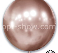 "Шар гігант Рожеве золото хром 21"" (52,5 см) Арт Шоу"