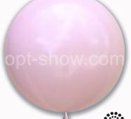 "Шар гігант Рожевий Макарун 36"" (90 см) Арт Шоу"