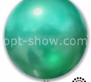 """Шар гігант Зелений Хром 21"""" (52,5 см) Арт Шоу"""