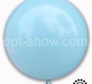 "Шар гігант Блакитного Макарун 21"" (52,5 см) Арт Шоу"