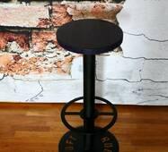 Стілець барный Loft №3, Чорний для кафе або будинку, оригінальний дизайн
