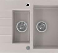 Кухонне миття KERNAU KGS A 6079 1,5b1d NATURAL BEIGE