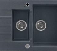 Кухонне миття KERNAU KGS A 6079 1,5b1d GRAPHITE
