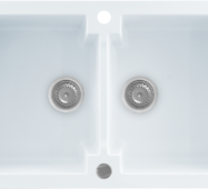 Кухонне миття KERNAU KGS A 80 2b PURE WHITE