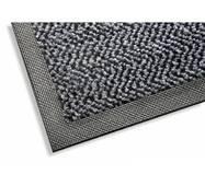 K403-85x150-GRAY - Коврик грязезащитный на резиновой основе с полиамидным  покрытием Дубенский завод РТИ K403-85x150-GRAY