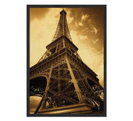 """Постер """"Вежа Ейфеля"""" із склом антивідблиску  420x594 мм в чорній рамці"""