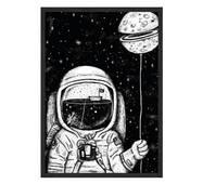 """Постер """"Tale a moon"""" без скла 596x840 мм в чорній  рамці"""