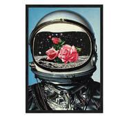 """Постер """"AstroFlowers*"""" без скла 297x420 мм в чорній  рамці"""