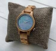 Дерев'яний наручний годинник Sky