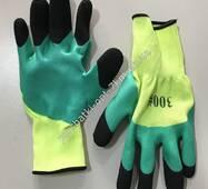 N-45 Резиновые перчатки с ПВХ на пальцах