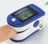 Пульсоксиметр на палец eHealth LYG88 Original (2020) Точный Медицинский Профессиональный измеритель пульса и кислорода