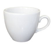 Чашка   фарфоровая  белая  250 мл Янтарь  8280 (36-881)