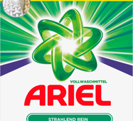 Пральний порошок для білого Аріель Ariel 40 пр 2,6 кг Німеччина
