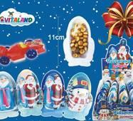 *NEW_YEAR Фигурка MIX (НОВОГОДНЯЯ ВСТРЕЧА) шоколад печенье сюрприз 22г*24