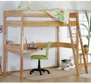 Кровать чердак трансформер b04 с рабочим местом подростку