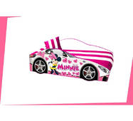 """Кровать машина """"Минни"""" для девочки принцессы + матрас и подушечка + доставка бесплатно"""