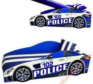 Машина кровать Police Элит 70х150 + матрас+подушка
