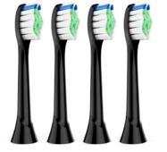 Насадки для зубной электрической щетки Philips Sonicare - PolishPlus Black (4 шт) ProZone