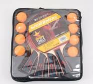 Тенисный набор в сумке, две ракетки 26 см, 8 шари