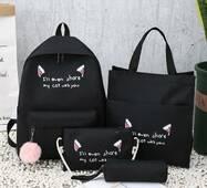 STK Рюкзак, сумки, пенал, 4в1 (набір) чорний