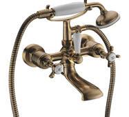 CUTHNA antiqua Imprese змішувач для ванни двухвентильний, бронза