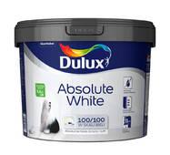 Водоэмульсионная краска  DULUX ABSOLUTE WHITE для стен и потолков 5,0 л.