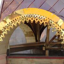 Виготовлення куполів / Изготовление куполов