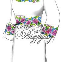 Заготовки платьев для вышивки бисером