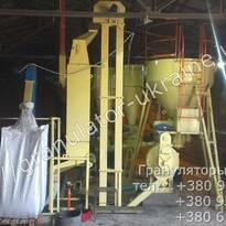 Монтаж линии гранулирования ОГМ-1,5А (г.Винница)