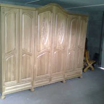 Шкафы деревянные
