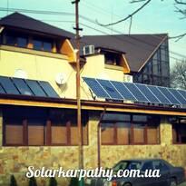5,5 кВт (22 солнечные батареи), 8 коллекторов(800 литров ГВС)  , г.Ужгород, РЦ