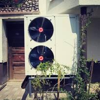Тепловой насос Сaldoris для отопления дома, г. Тячев